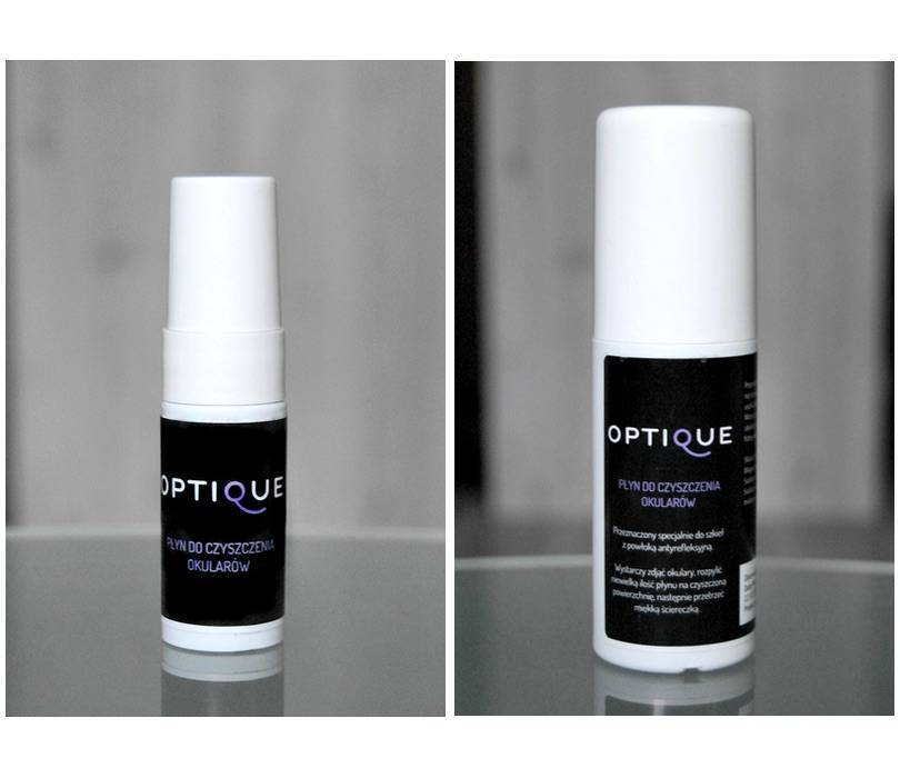 Liquid for cleaning glasses OPTIQUE (85ml)