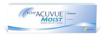 Contact Lenses 1•DAY ACUVUE® MOIST® (30 pieces)