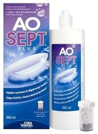 Liquid lens care AOSEPT® PLUS - 360ml
