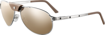CARTIER  Sunglasses SANTOS DE CARTIER GOLD ADDICT