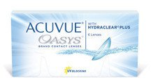 Contact Lenses ACUVUE® OASYS® with HYDRACLEAR® PLUS (6 pieces)